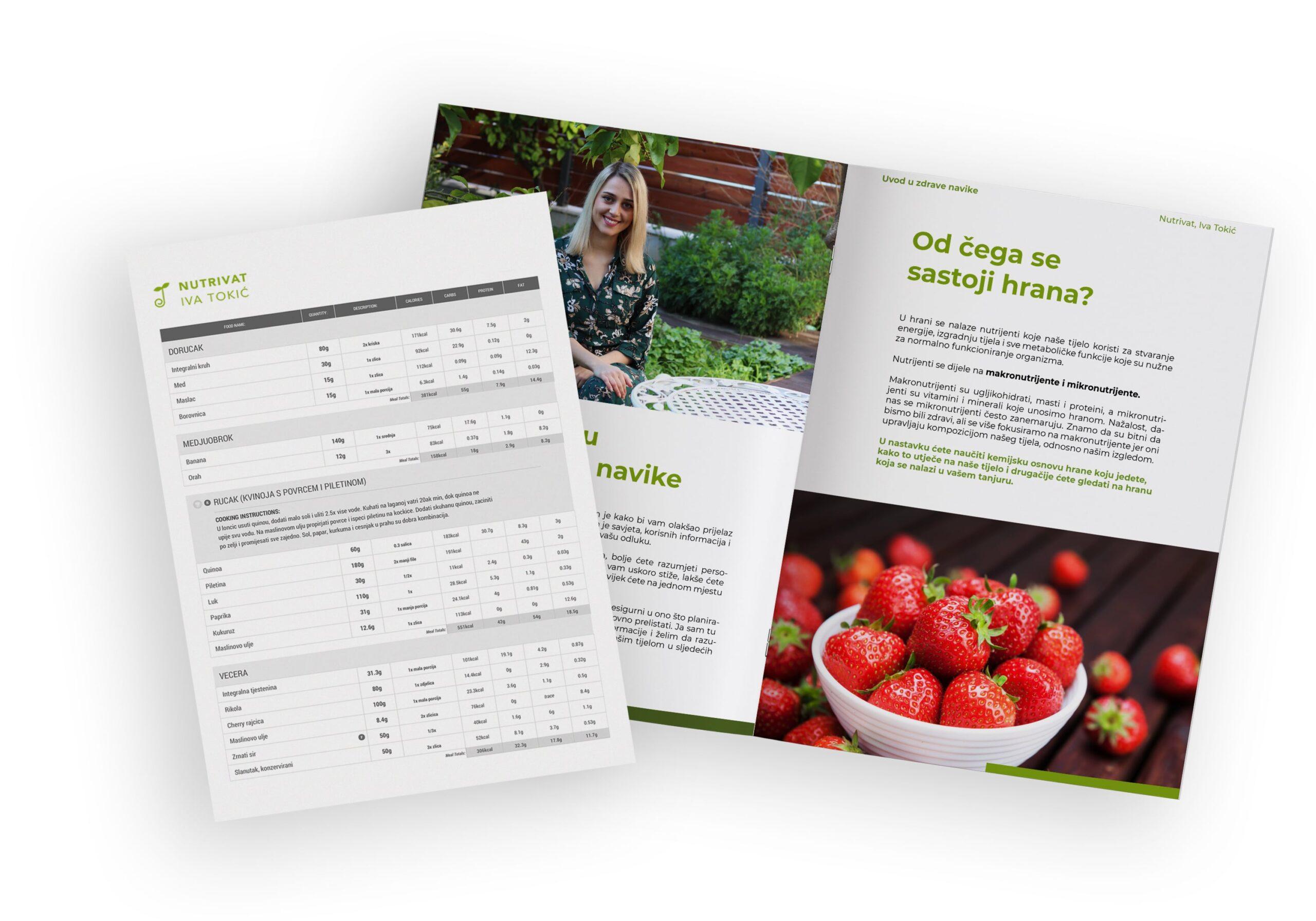 nutrivat, primjer plana prehrane, personalizirani plan prehrane